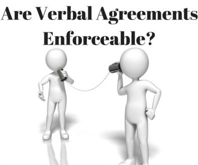 Verbal Agreements