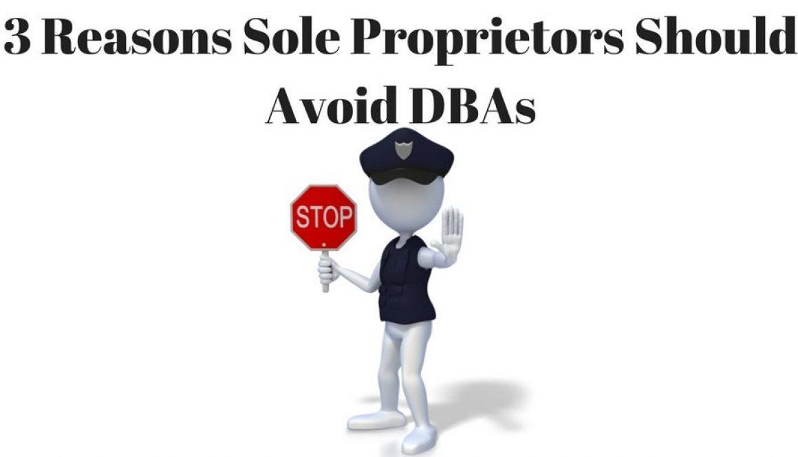 DBA Sole Proprietor