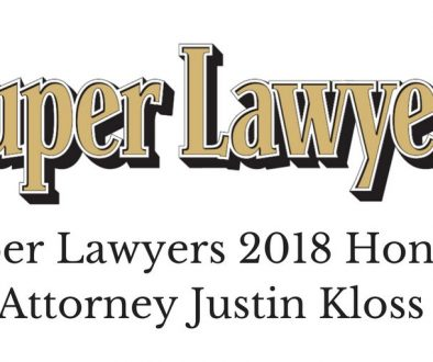 Super Lawyers Justin Kloss